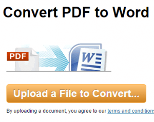 convertire documenti pdf in word