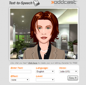 text to speech online