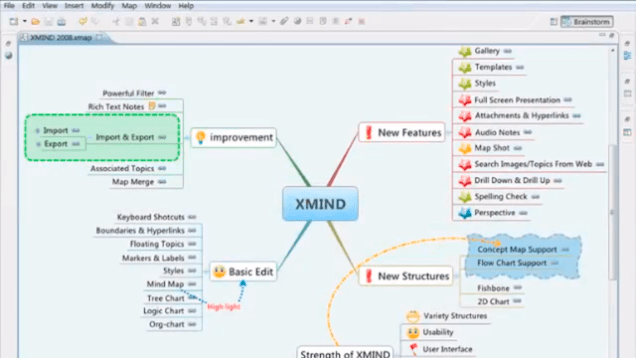 mind mapping tool with Programmi E Siti Per Fare Mappe Concettuali E Diagrammi Di Flusso on Mind Maps For Genealogy furthermore Valuestreammapping in addition Stakeholder Map Template likewise Visualizations additionally 10 Salesforce Integration Design Considerations From Architect Point Of View Mind Mapping Included.