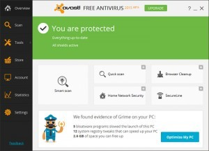 antivirus gratis in italiano