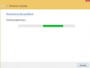 risolvere problemi windows update