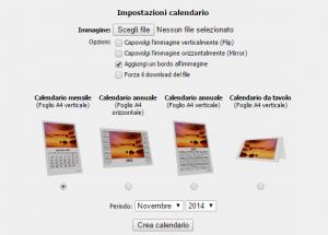calendario online