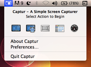 catturare schermo