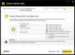 gestire password