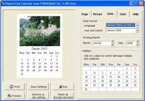 programmi per creare calendari con le foto