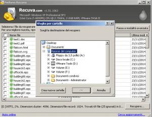 recupero dati con recuva gratis