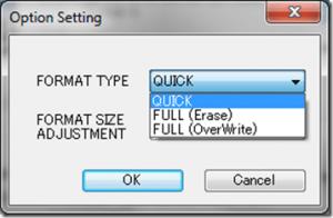 impossibile formattare scheda micro sd