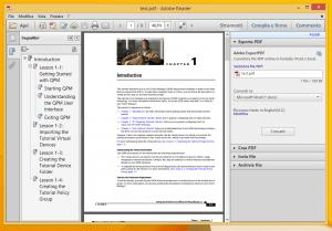 aprire pdf
