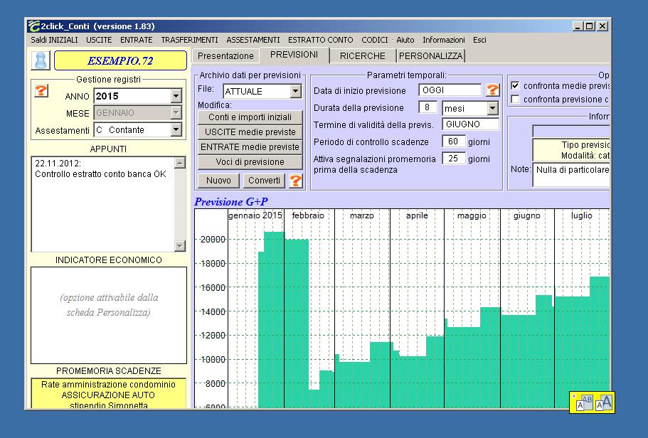 Programmi per bilancio familiare e contabilit domestica for Software di progettazione domestica moderna