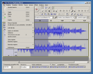 Tagliare canzoni e file audio mp3 programmi gratis e for Programmi per disegnare arredamenti gratis in italiano