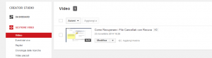 tagliare video con youtube