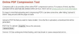 comprimere pdf online gratis