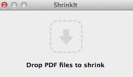 comprimere pdf su mac