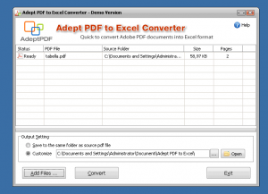 programmi per convertire pdf in excel gratis