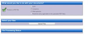 ridurre dimensione pdf online