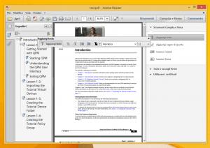 come scrivere su file pdf