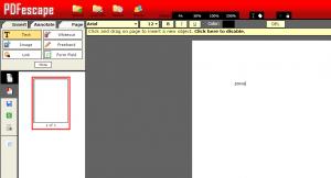 come scrivere su pdf
