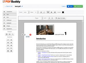 scrivere pdf