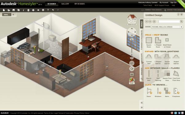 Programmi per arredare progettare e disegnare casa gratis for Progettare mobili online