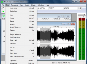modificare file audio gratis