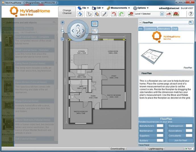 Disegnare planimetria casa gratis for Programma arredamento 3d