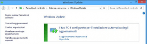 windows update non funziona