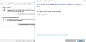 aggiornamento driver windows 10