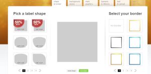 come creare etichette online