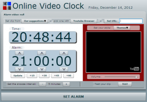 onlinevideoclock