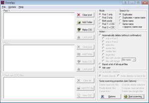 programmi per cancellare file doppi