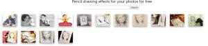 convertire foto in disegno online