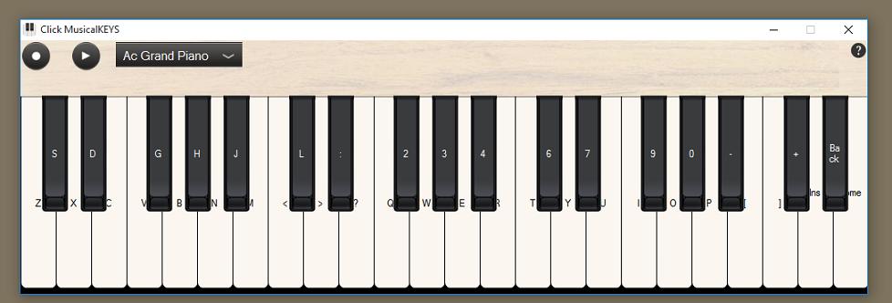 Pianoforte virtuale da suonare online migliori siti for Strumento online gratuito piano piano